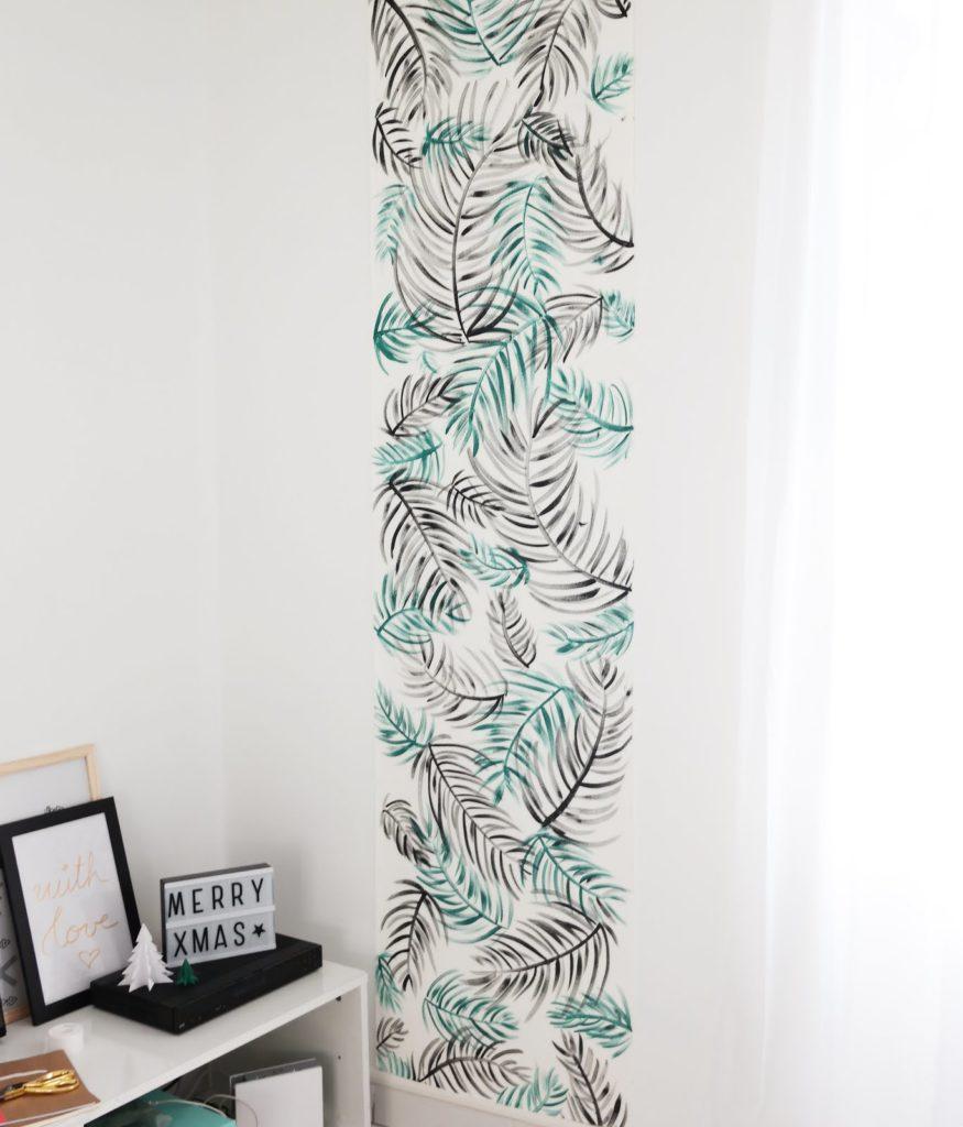 diy-deco-murale-tapisserie-tropicale