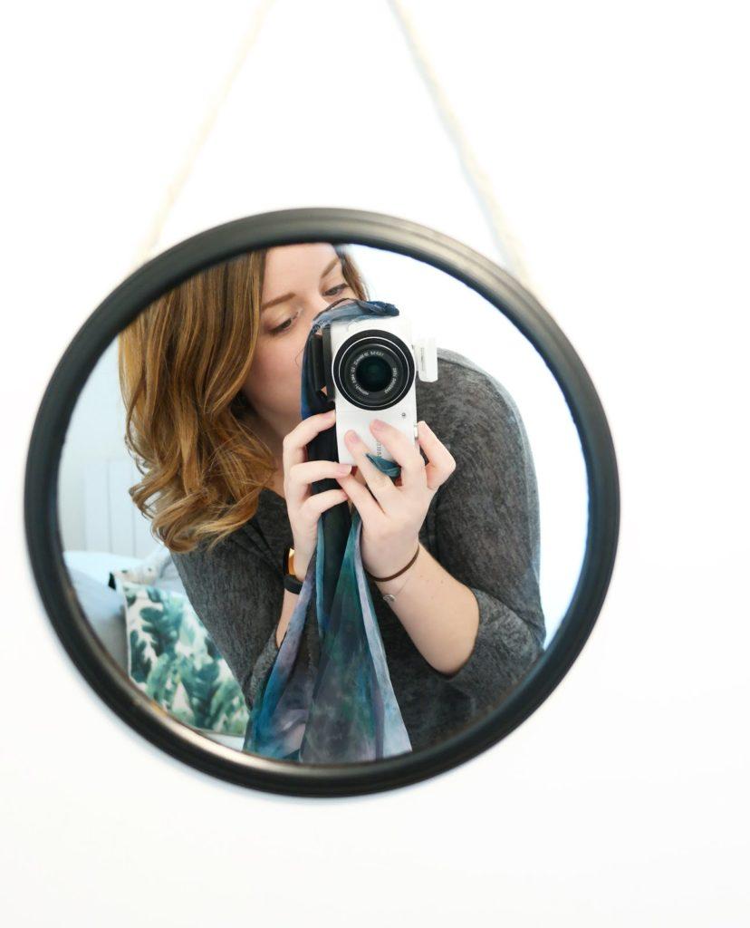 miroir-vintage-noir-black-miror-diy