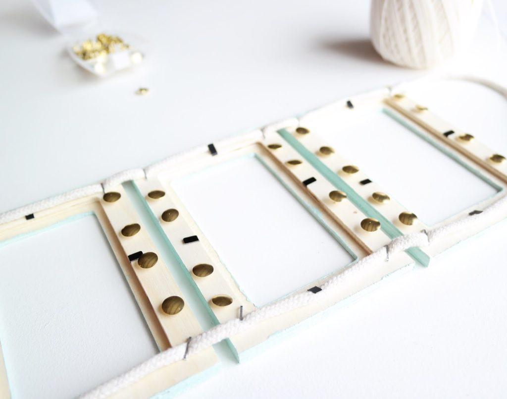 Diy cadre porte bijoux shylylovely for Largeur cadre de porte