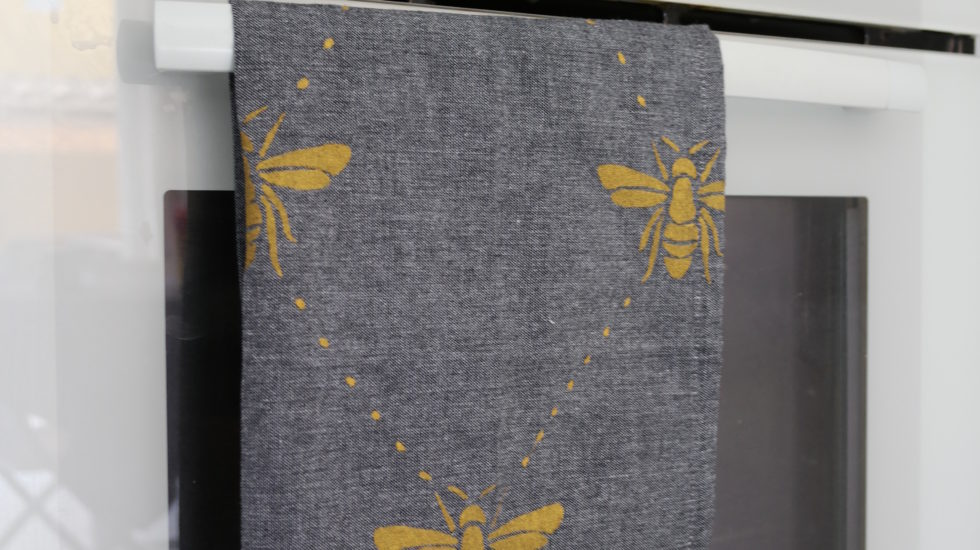 serviette-de-table-insectes-