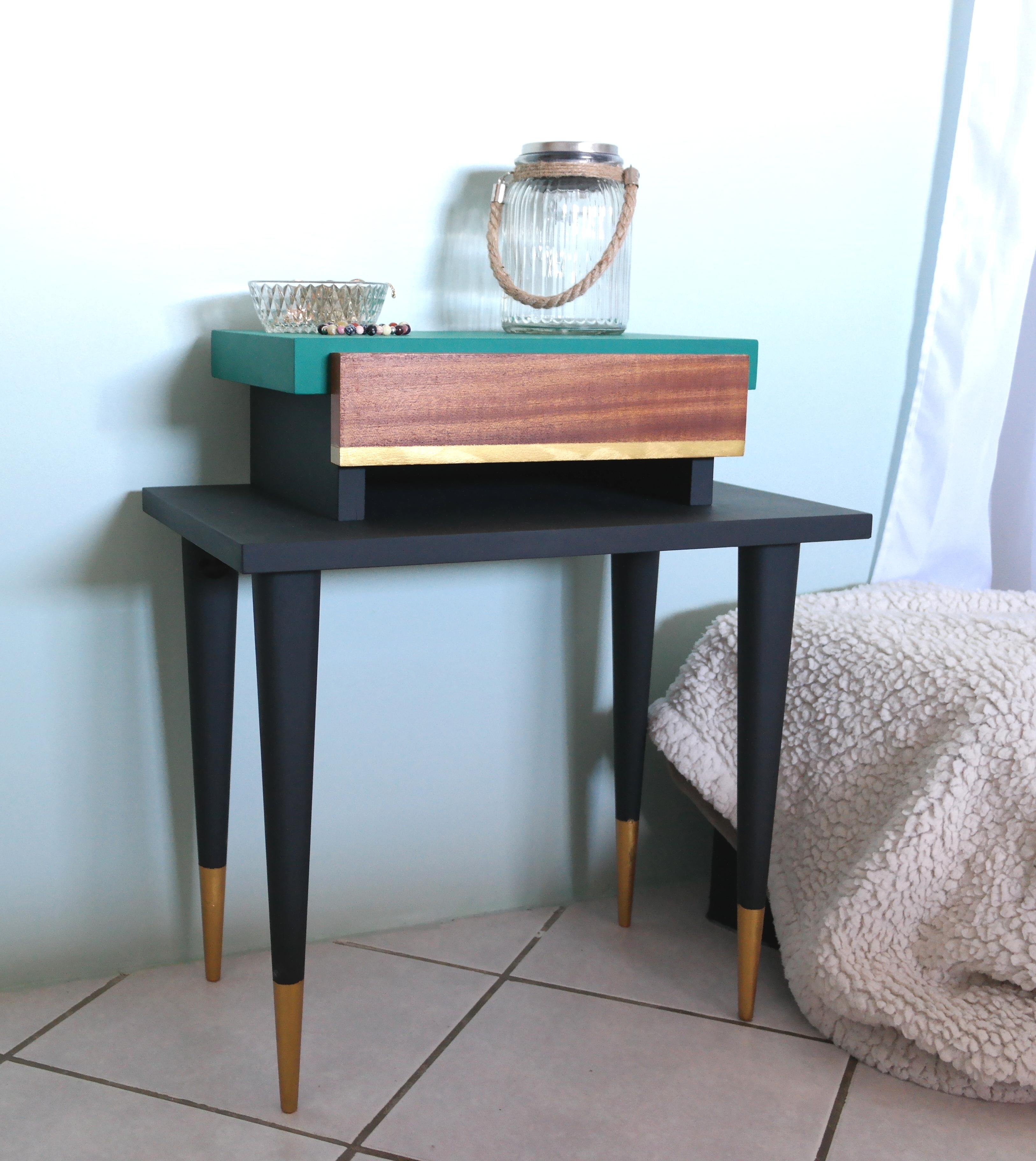 Diy Relooking De Ma Table De Chevet Vintage Stacey Stachetti