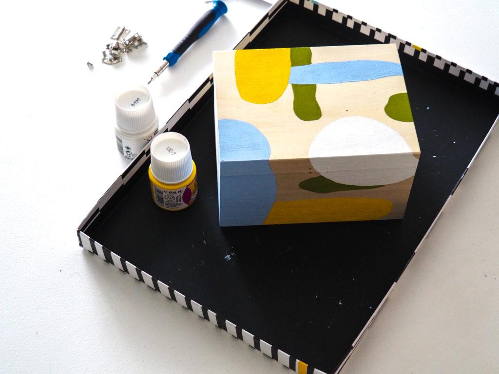 peinture terminé