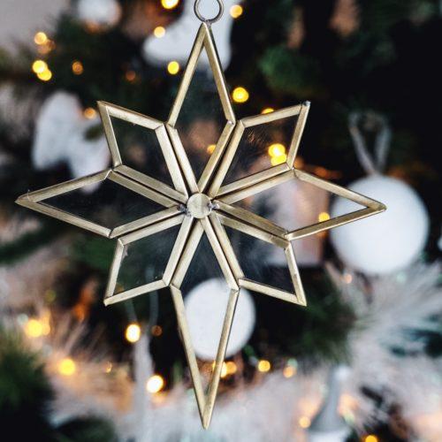 étoile métal