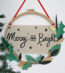 couronne-de-noel-christmas-wreath-pebeo