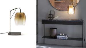 Lampe métal et verre - LaRedoute