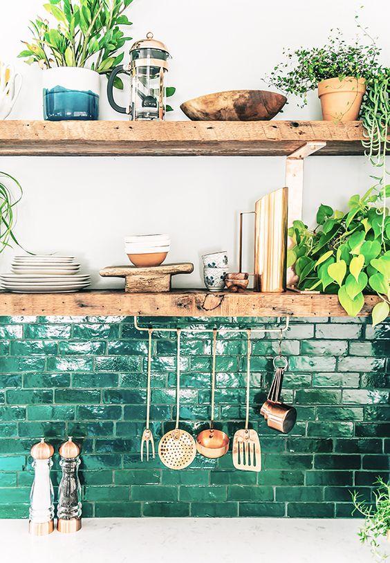 zellige cuisine vert