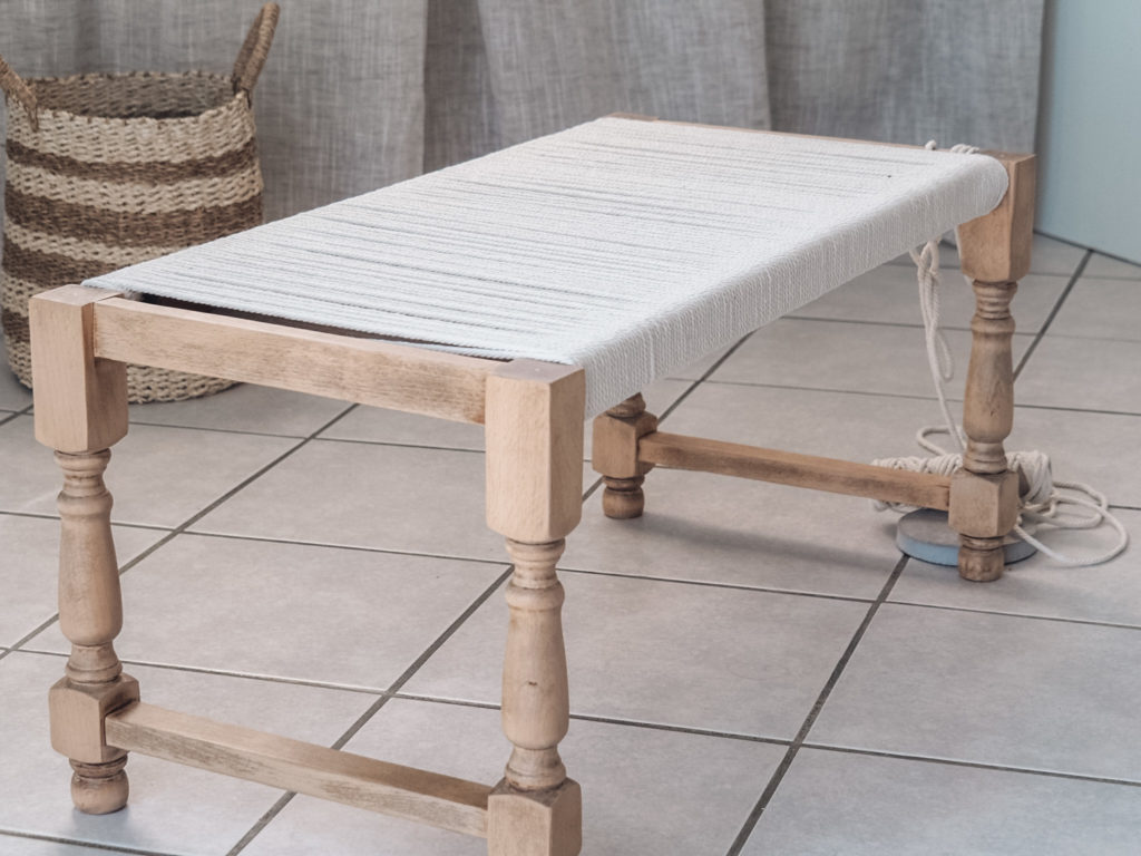 tissage table