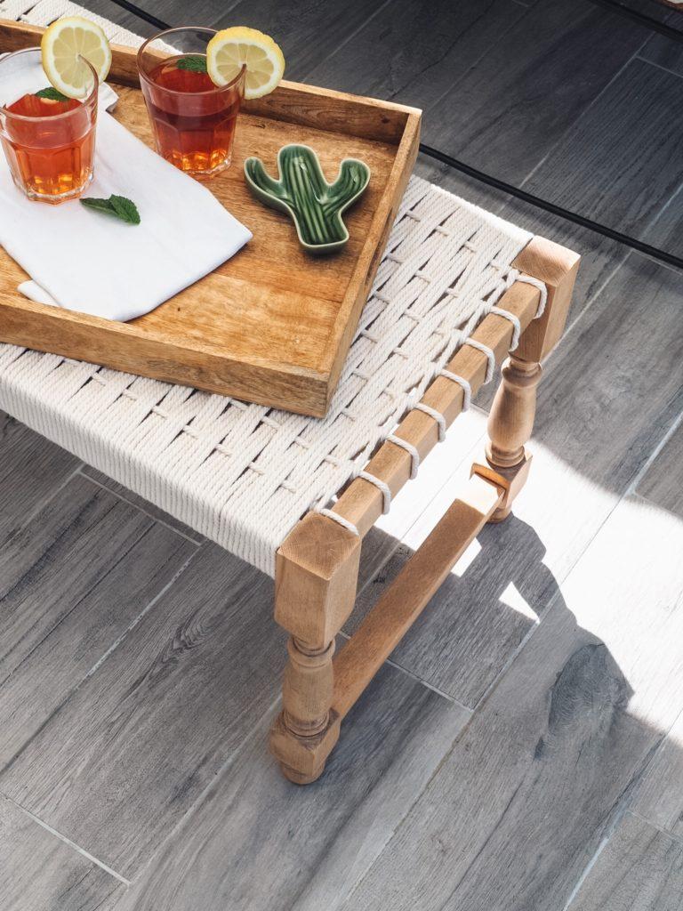 tissage table