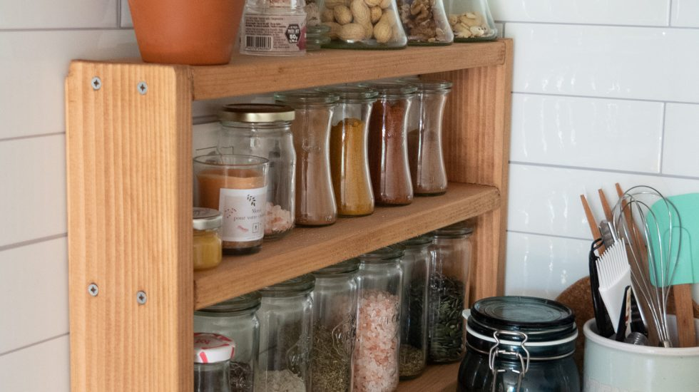 diy etagere a epices